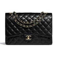 Chanel maxi classic flap bag thumbnail handbagholic 200x200px