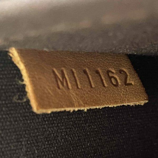 Louis Vuitton Alma GM Large Amarante Vernis Leather date code