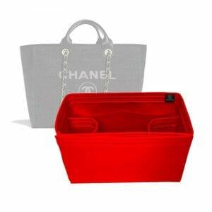 Chanel Deauville Medium Tote Bag handbag liner protector organiser insert handbagholic