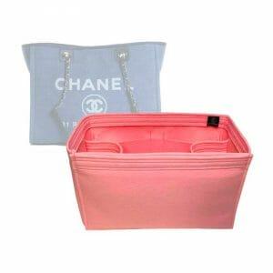 Chanel Deauville Small Tote Bag handbag liner protector organiser insert handbagholic