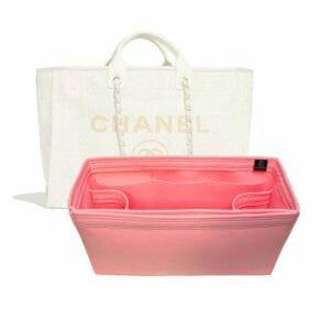 Chanel Large Deauville Tote Bag handbag liner protector organiser insert handbagholic