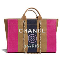 Chanel Large Deauville tote bag thumbnail handbagholic 200x200px