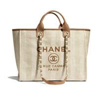 Chanel Medium Deauville tote bag thumbnail handbagholic 200x200px