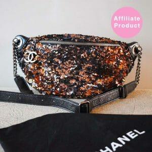 Chanel Sequin Bronze Bumbag
