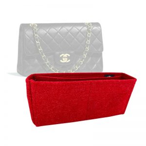 Chanel Small Classic Flap Bag handbag liner protector organiser insert handbagholic