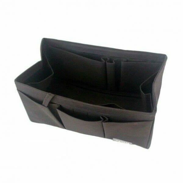 Hermes Birkin 25 organizer handbag liner waterproof Handbagholic Black