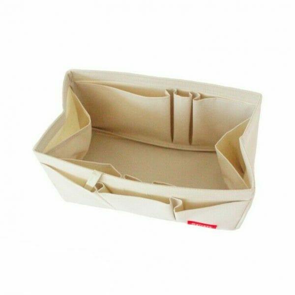 Hermes Birkin 30 organizer handbag liner waterproof Ivory