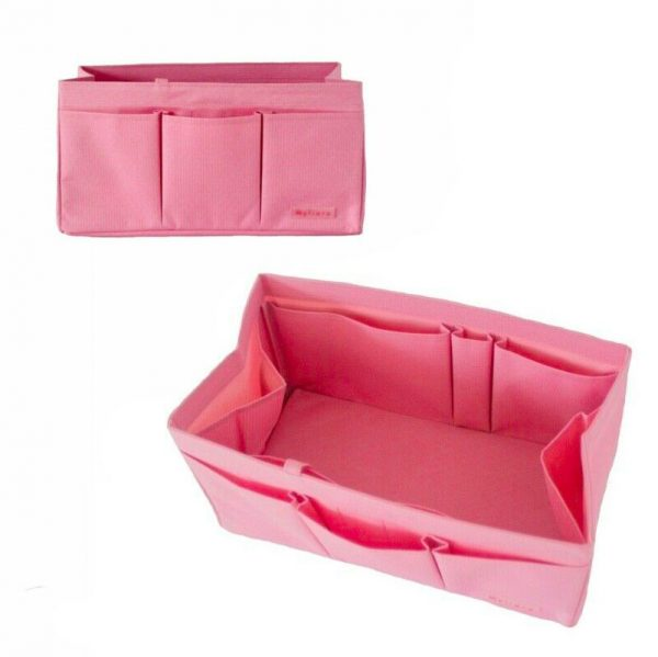 Hermes Birkin 30 organizer handbag liner waterproof Pink