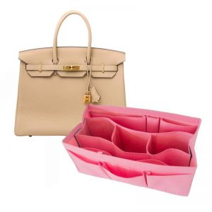 Hermes Birkin 35 organizer handbag liner waterproof handbagholic