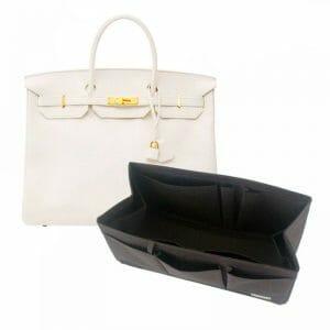 Hermes Birkin 40 organizer handbag liner waterproof