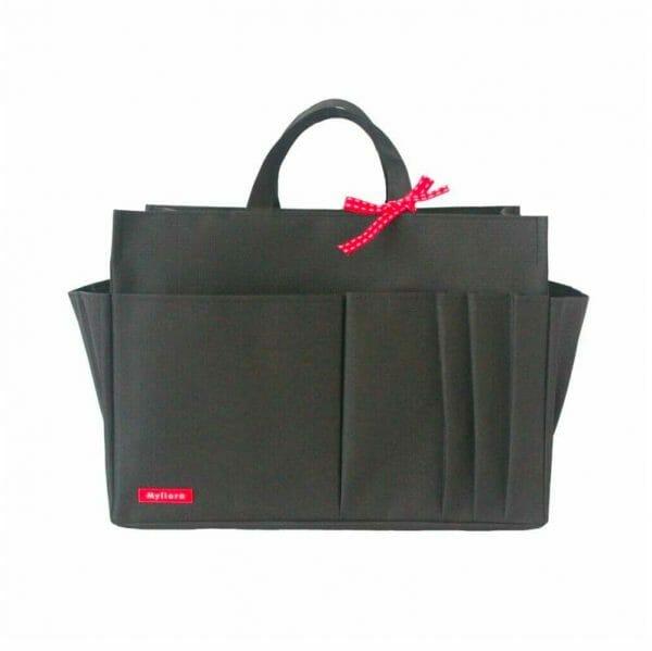 Louis Vuitton OnTheGo Tote Bag MM and GM Waterproof Bagliner Organiser Black