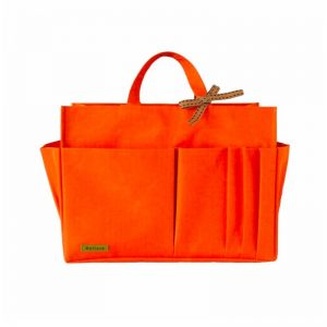 Louis Vuitton OnTheGo Tote Bag MM and GM Waterproof Bagliner Organiser Orange