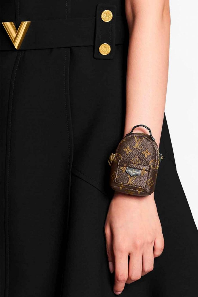 Louis Vuitton Tiny Palm Springs Mini Backpack Bag Party Bracelet