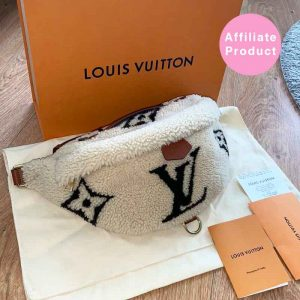 Louis Vuitton Shearling Teddy Bumbag Giant Monogram