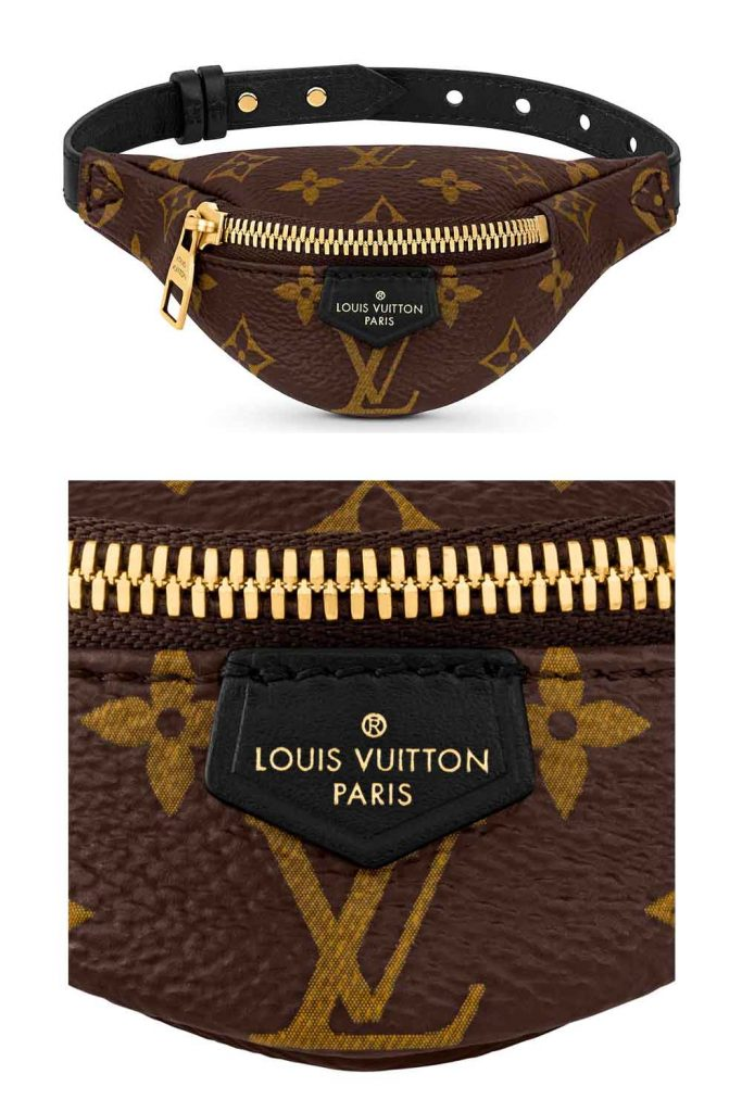 Louis Vuitton Minature BumBag Bag as Bracelet