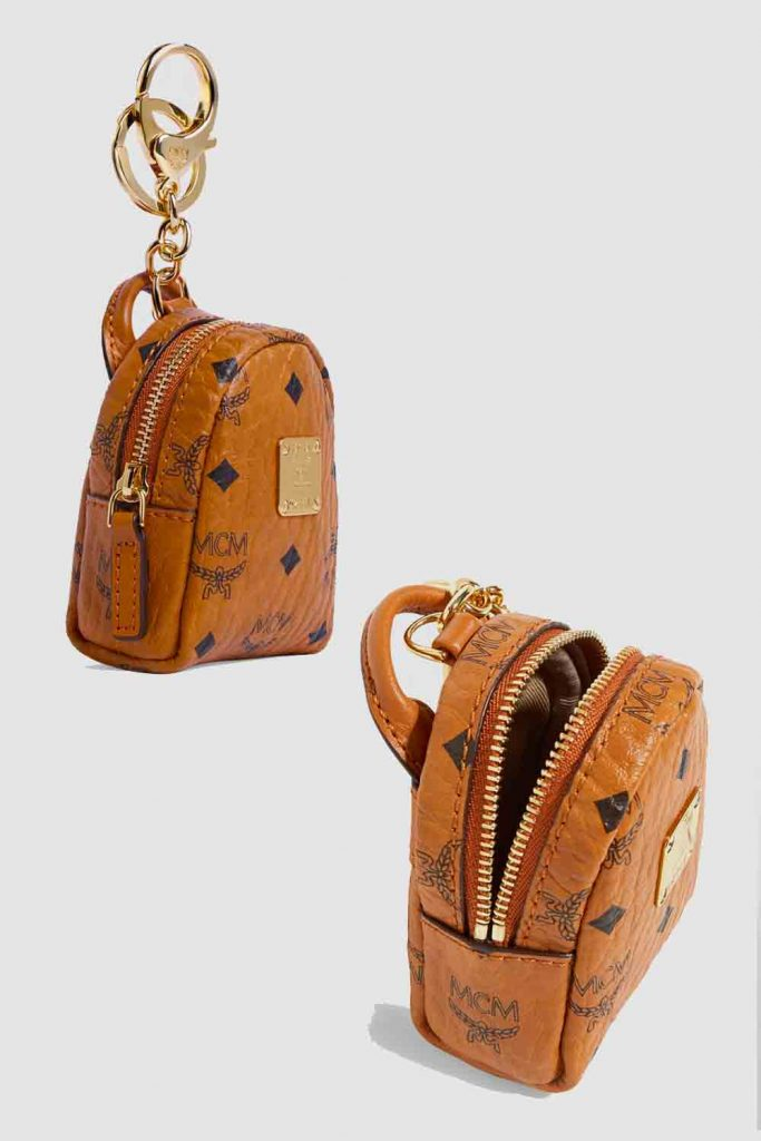 Tiny Designer Backpack bag by MCM