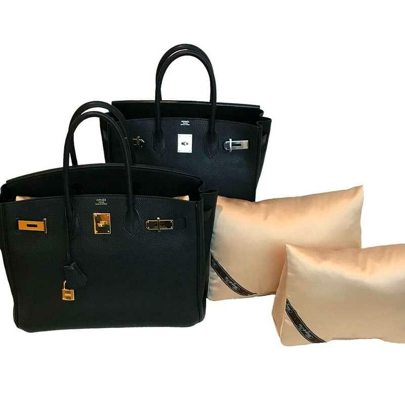 Hermes Birkin 25 Purse Pillow Shaping