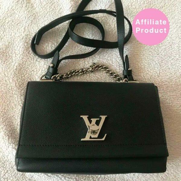 Louis Vuitton Black LockMe BB Bag