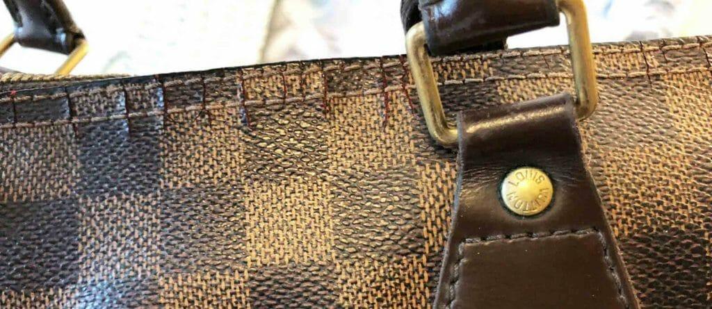 Louis Vuitton Cracked Canvas on Speedy Zipper Wear and Tear