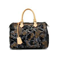 Louis Vuitton Fleur de Jais Sequin Speedy Bag 25 Limited Edition