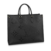 Louis Vuitton OnTheGo tote bag LV GM Large Monogram Empreinte Giant Thumbnail