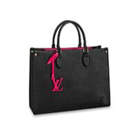 Louis Vuitton OnTheGo tote bag Medium LV MM Black EPI Leather Thumbnail