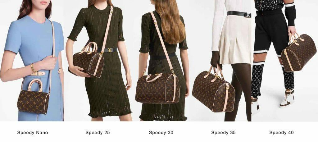 Louis Vuitton LV Speedy Bandourlier bag crossbody strap
