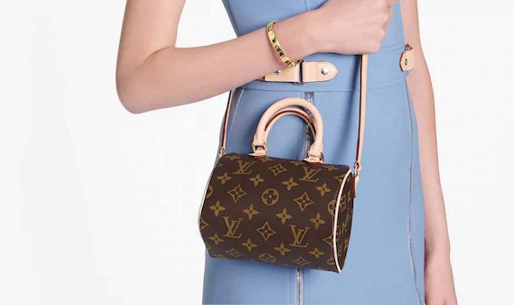 The Louis Vuitton Monogram Speedy Nano Bag