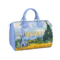 Louis Vuitton Van Gogh Jeff Koons Masters Collection Limited Edition Speedy 30 bag