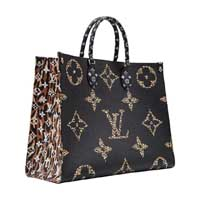 Louis Vuitton onTheGo Limited Edition Black and Orange OnTheGo tote bag GM