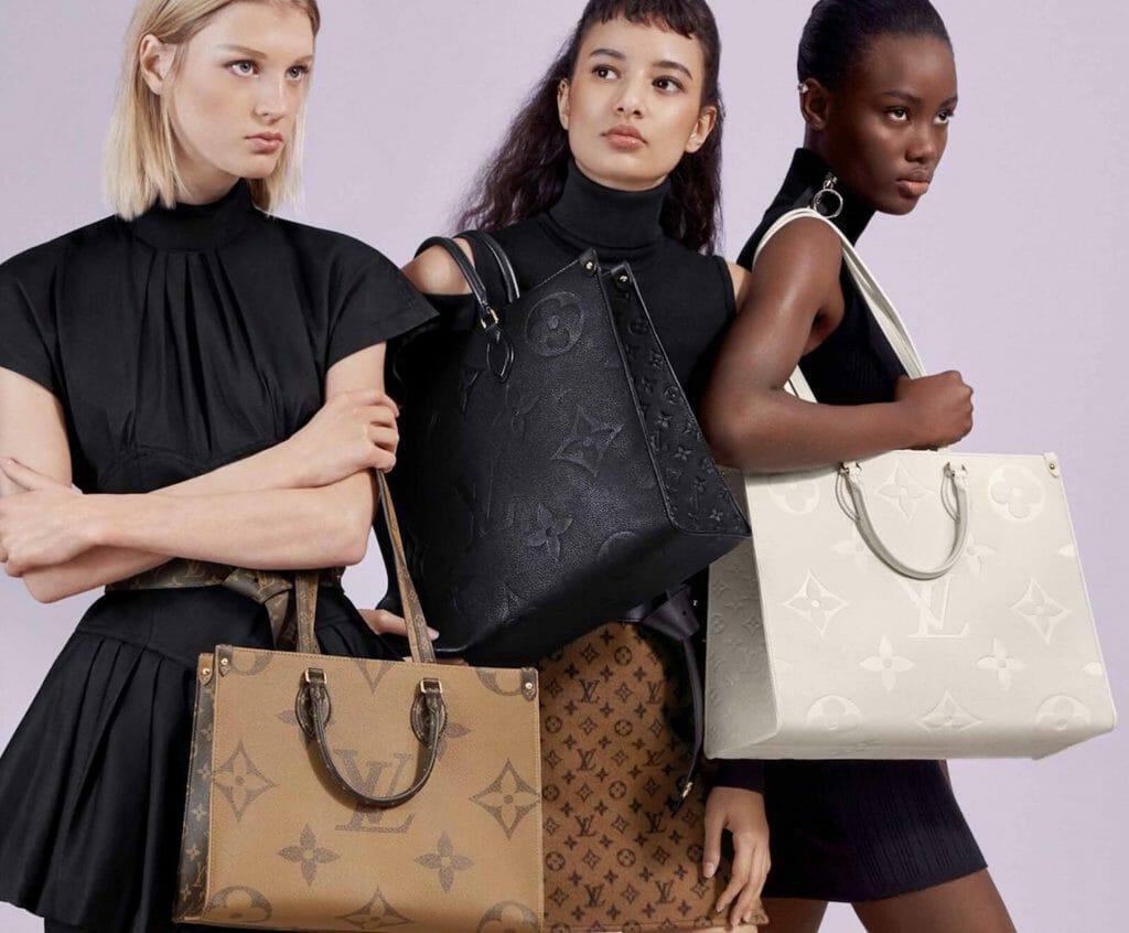 Louis Vuitton OnTheGo tote bag giant monogram collection