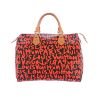 Louis Vuitton pink graffiti Speedy 30 Limited Edition bag