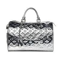 Louis Vuitton silver mirror speedy 35 Limited Edition