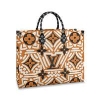 louis vuitton crafty 2020 collection onthego tote bag cream caramel handbagholic 200x200px