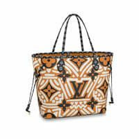 louis vuitton crafty Neverfull MM Cream Caramel 2020 collection handbag icon handbagholic 200x200px