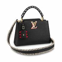 louis vuitton crafty capucines black bag 2020 collection handbag