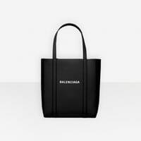 Balenciaga black leather XS extra small designer tote bag handbag icon handbagholic 200x200px