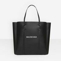 Balenciaga black leather medium designer tote bag handbag icon handbagholic 200x200px