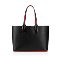 Christian Louboutin spiked Cabata Small designer tote bag handbag icon handbagholic 200x200px