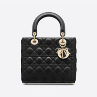 Lady Dior Medium designer tote bag handbag icon handbagholic 200x200px