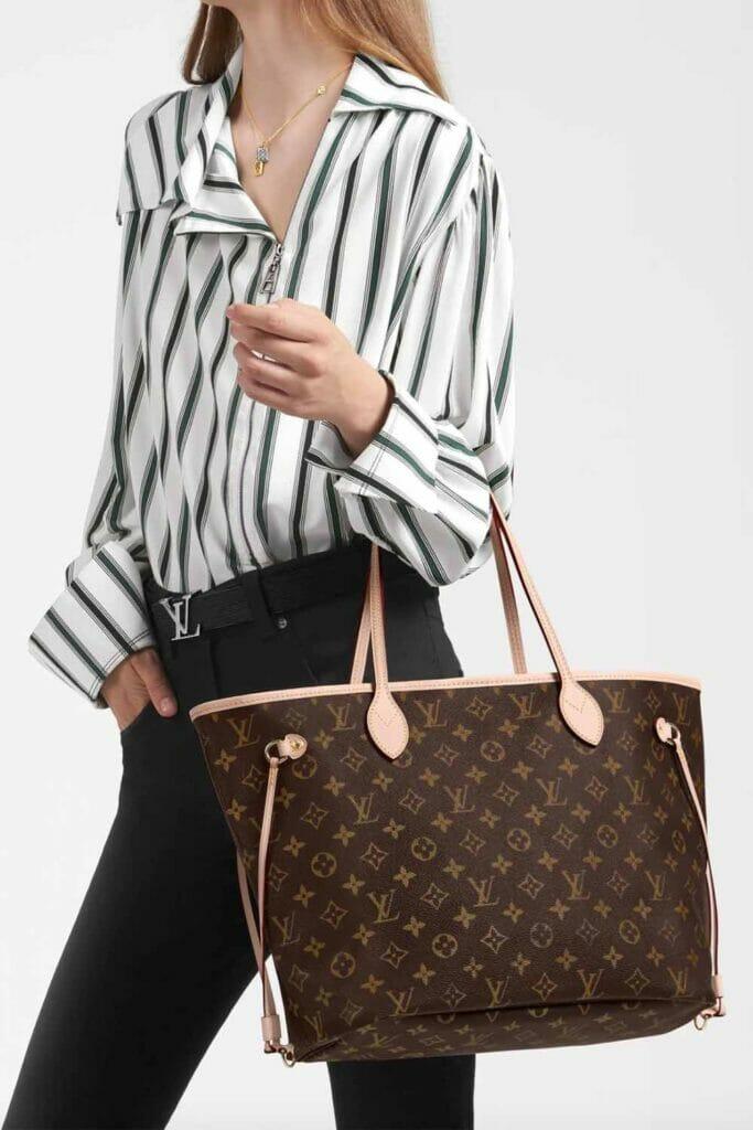 Louis-Vuitton-neverfull-best-designer-tote-bag-for-work-and-everyday-handbagholic-monogram-MM
