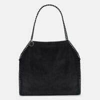 Stella McCartney Falabella Tote Bag black designer tote bag handbag icon handbagholic 200x200px