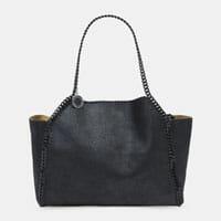 Stella Mccartney Reversible Falabella Tote designer tote bag handbag icon handbagholic 200x200px