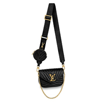 LOUIS VUITTON NEW WAVE MULTI-POCHETTE black leather icon handbagholic 200x200px