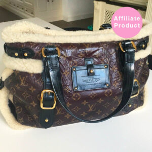 Louis vuitton shearling thunder bag monogram