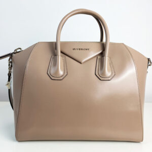 Givenchy Antigona Medium Taupe Bag Nude Beige front