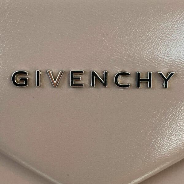 Givenchy Antigona Medium Taupe Bag Nude Beige logo