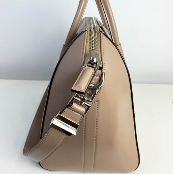 Givenchy Antigona Medium Taupe Bag Nude Beige side