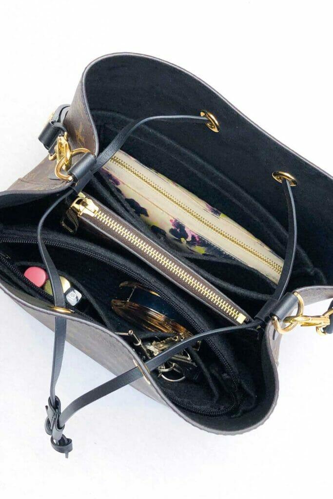 Louis Vuitton LV NeoNoe Bag organizer organiser liner handbagholic