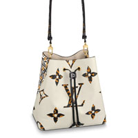 Louis Vuitton NeoNoe Jungle white bag LV Thumbnail
